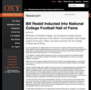 OXY College ~ April 26, 2001